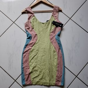 Ark & Co 💜 BNWT Sheath Dress Stretch Bodycon Sexy